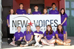 New Voices 2012 - our group